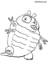 Imprimer le coloriage : Monstres contre Aliens, numéro 571099