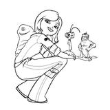 Imprimer le coloriage : Monstres contre Aliens, numéro 573648