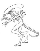 Imprimer le coloriage : Monstres contre Aliens, numéro 754148