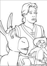Imprimer le coloriage : Shrek, numéro 543493