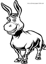 Imprimer le coloriage : Shrek, numéro 543522