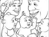 Imprimer le coloriage : Shrek, numéro 543526