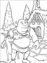 Imprimer le coloriage : Shrek, numéro 543529