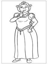 Imprimer le coloriage : Shrek, numéro 561389