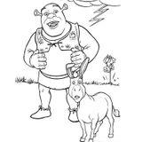 Imprimer le coloriage : Shrek, numéro 613623