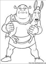 Imprimer le coloriage : Shrek, numéro 628889