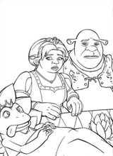 Imprimer le coloriage : Shrek, numéro 758784