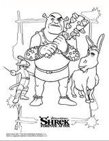 Imprimer le coloriage : Shrek, numéro 8821a556