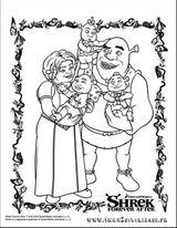 Imprimer le coloriage : Shrek, numéro a8adcbf5