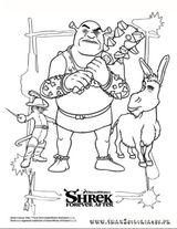Imprimer le coloriage : Shrek, numéro d559e6c5