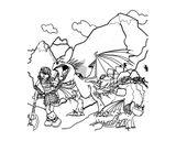 Imprimer le coloriage : DreamWorks, numéro c12e023