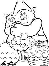 Imprimer le coloriage : DreamWorks, numéro e0b8edd8