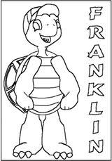 Imprimer le coloriage : Franklin, numéro 5010