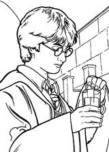 Imprimer le coloriage : Harry Potter, numéro 1641
