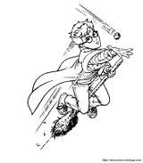 Imprimer le coloriage : Harry Potter, numéro 1654