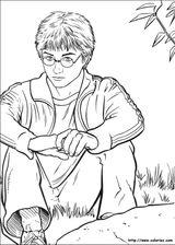 Imprimer le coloriage : Harry Potter, numéro 16708