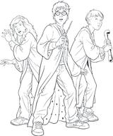 Imprimer le coloriage : Harry Potter, numéro 170765