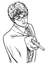 Imprimer le coloriage : Harry Potter, numéro 28a5adcf