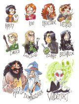 Imprimer le dessin en couleurs : Harry Potter, numéro 336799