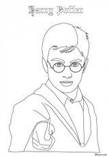 Imprimer le coloriage : Harry Potter, numéro 4251