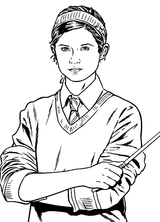 Imprimer le coloriage : Harry Potter, numéro 4257