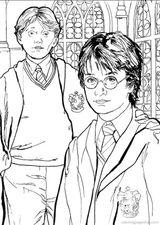 Imprimer le coloriage : Harry Potter, numéro 755035