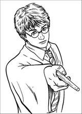 Imprimer le coloriage : Harry Potter, numéro 7965