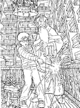 Imprimer le coloriage : Harry Potter, numéro 7969