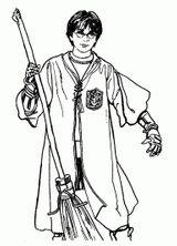 Imprimer le coloriage : Harry Potter, numéro 88e330c0