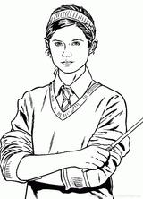 Imprimer le coloriage : Harry Potter, numéro 8b83490b