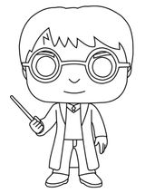 Imprimer le coloriage : Harry Potter, numéro 8e70d8c6