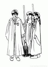 Imprimer le coloriage : Harry Potter, numéro dfb386da