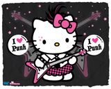 Imprimer le dessin en couleurs : Hello Kitty, numéro 18784