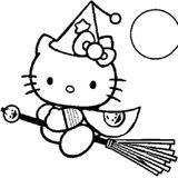 Imprimer le coloriage : Hello Kitty, numéro 1889a7e8