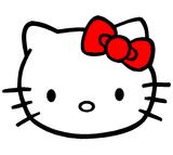Imprimer le dessin en couleurs : Hello Kitty, numéro 20407