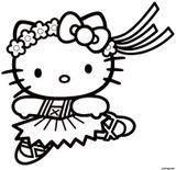 Imprimer le coloriage : Hello Kitty, numéro 31690247