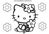 Imprimer le coloriage : Hello Kitty, numéro 3d8ea74