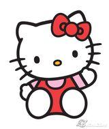 Imprimer le dessin en couleurs : Hello Kitty, numéro 40c2df71