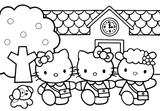 Imprimer le coloriage : Hello Kitty, numéro 4615