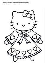 Imprimer le coloriage : Hello Kitty, numéro 5304b07f