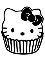 Imprimer le coloriage : Hello Kitty, numéro 534969