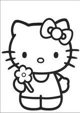 Imprimer le coloriage : Hello Kitty, numéro 5635