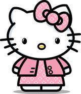 Imprimer le dessin en couleurs : Hello Kitty, numéro 620011