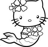 Imprimer le coloriage : Hello Kitty, numéro 627336