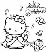 Imprimer le coloriage : Hello Kitty, numéro 627337
