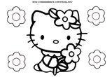 Imprimer le coloriage : Hello Kitty, numéro 75d39359