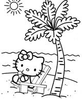 Imprimer le coloriage : Hello Kitty, numéro 8648