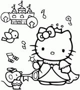 Imprimer le coloriage : Hello Kitty, numéro a389a6cd