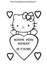 Imprimer le coloriage : Hello Kitty, numéro a5b6e435