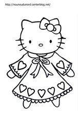 Imprimer le coloriage : Hello Kitty, numéro c889027e